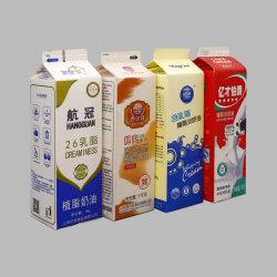 Confezione in rotolo di carta asettico per succo e latte utilizzati su Riempitrice Tetra Pak