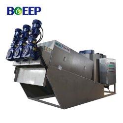 Винт типа нажмите Фильтр обезвоживание машины для очистки сточных вод решений
