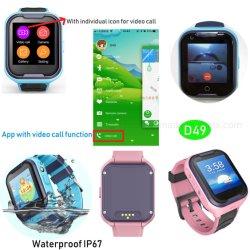 2019 Nouveau développé étanche IP67 Les enfants Tracker Watch D49