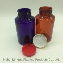 La Fabricación de HDPE/Pet MD-195 300ml Botella de la Ronda de la Medicina Plástica Capsule Bottle