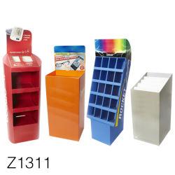 Z1311 bon marché carton palette de nourriture pour chiens présentoir, jouets pour animaux familiers présentoir, 4 recto/cookies au chocolat de la palette bac d'affichage