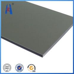 В серебристом алюминиевом корпусе композитной панели пластиковые декоративные настенные панели Acm материала
