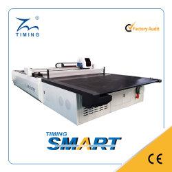 Tmcc-2025 CAD Cam Nesting sistema di taglio per il taglio di tessuti per indumenti Fresa a macchina