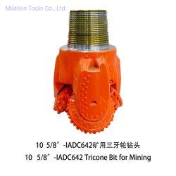 """10 5/8"""" IADC Code 642 Mijnbouw machines Waterput boren Gereedschap boorbit Tricone-bit"""