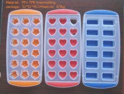 Vassoio per provette in silicone Ice a fori multipli