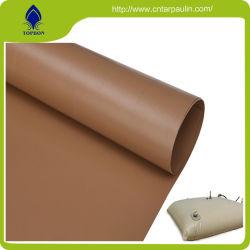 La resistenza alla trazione del tessuto rivestito del poliestere del PVC della migliore tela incatramata