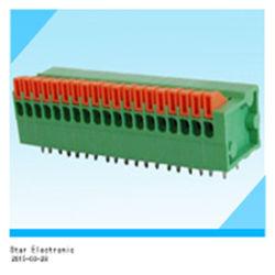 PCB de 8 pines tapón en el bloque de terminales de color verde
