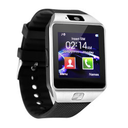 Tela de Toque de moda relógio de pulso Celular Smart Watch Dz09