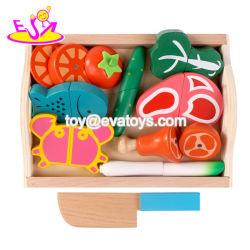 Новые Популярные учебные деревянная игрушка для продуктов питания для детей в деятельности играют W10b201