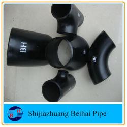ANSI B16.9 углеродистая сталь A234 Wpb Smls Sch40 фитинги трубы