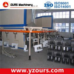 Revêtement en poudre Conveyorized ÉQUIPEMENT POUR MACHINES TEXTILES