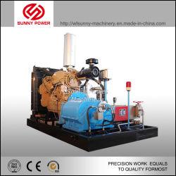 مضخة مياه الديزل لتنظيف الصناعات الكيميائية بضغط 50MPA