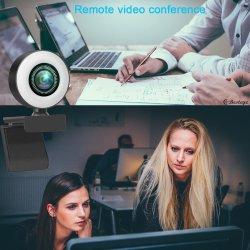 Fábrica de la cámara web USB de PC Mayorista Driverless Web Cam cámara digital de vídeo juegos de 2m de componentes del equipo