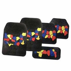 Универсальный автомобильный напольный коврик, дважды два используется двусторонняя заводской оптовой автомобильный напольный коврик пола автомобиля