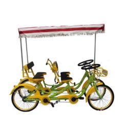 الصين عائلة المرح التجول الدراجة 4 أشخاص عجلة ساري سعر مبيعات دراجات الدراجة الهوائية تصميم جديد دراجة ترادفية 4 مقاعد