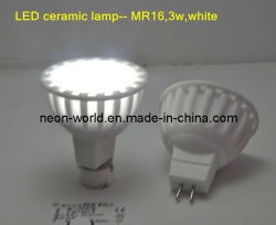 Cerámica de alta potencia de la Copa de LED Lámpara - MR16, 3W