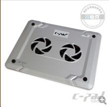 C-Pad nova almofada de resfriamento de Notebook, Notebook, Resfriador para 12~15 Polegadas