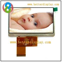 Al PAL/NTSC módulo LCD TFT de 4,3 pulgadas de pantalla Lce Bt917-12