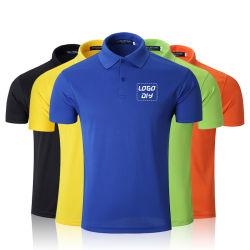 Alta calidad para hombres personalizados en blanco liso algodón Camiseta Polo, el diseño de moda Unisex/Impreso bordado Polo Golf