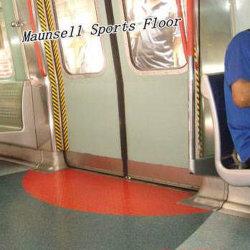 Haut de la qualité de la Chine usine PVC/sol homogène pour l'aéroport/bus/métro