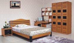 5pcs Duurzame houten slaapkamerset met hoekbureau (HH21BT)