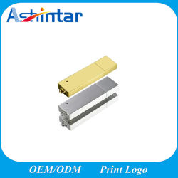 Grelle Platte-Gold/Silver des Metall-USB-Blitz-Laufwerk-USB3.0 rostfreier USB-Stock