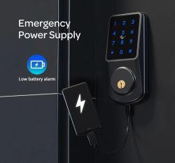スマートで安全なアクリルのパネルの電子無線Bluetoothの制御システムのデジタルキーパッドの指紋のキャビネットの世帯のDeadboltのドアロック