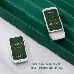 Usine directement d'alimentation Portable OEM baume pour le corps solide parfum désodorisant parfum