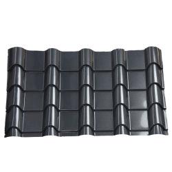 بناء المواد السقف السطح Tilede مجلفنة اللون المعدن المموج PPGI ورقة سطح من الصلب مطلي بالألوان مادة بناء سعر DDP