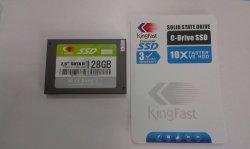 Kingfast 128GB 2.5 ' SATA II MLC Festzustands- Antrieb (KF2501MCJ06)