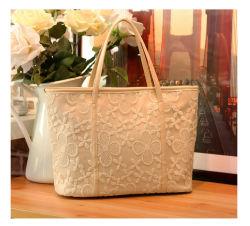 Nuovo sacchetto causale della signora Handbags Women Tote Designer del merletto di immaginazione di arrivo (WDL0979)