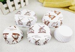 Folie Papier Backen Kuchen Tassen Heißen Verkauf Kundenspezifischen Druck Bunt Papier Cake Cup Papier Cake Cup Cupcake Liner