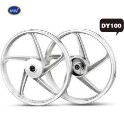 Usine de production de haute précision Dy100 Roue en aluminium de moto