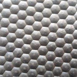 Superfície martelado desmame ventilatório borracha durável para finalizar o tapete com tecidos de fibras do suíno