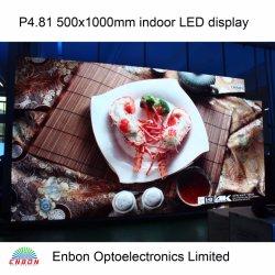 HD P4.81 móvel no interior dos painéis de LED com lâmpadas Epistar
