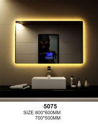 마술 LED 목욕탕 미러를 옷을 입는 은 현대 벽 호텔 훈장