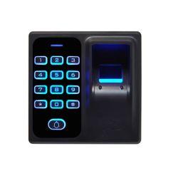 Huella digital independiente de control de accesos con lector de tarjetas