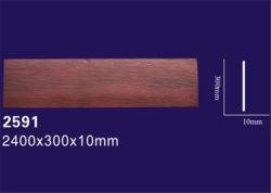 Il legname artificiale del Faux irradia il grano di legno per la decorazione domestica del soffitto del giardino