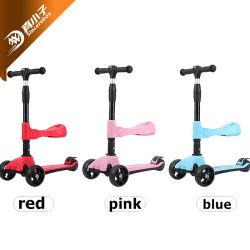 Venta caliente a los niños de 3 ruedas Scooter Scooter de plástico de los niños