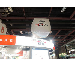 Cubo inflables Globos publicitarios de PVC de vuelo del globo de helio GM3201