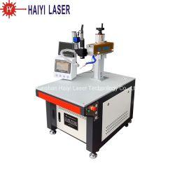 Visão de 1 kw profissional eixo xyz máquina de soldar a Laser de cobre de carbono em aço inoxidável de preço