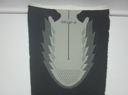 Tênis de corrida de Nylon Material Flyknit Material Superior