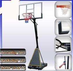 Piscina Móveis e suportes de basquete ajustável para Adulto