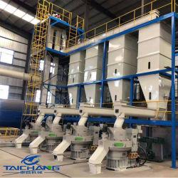 Directamente de fábrica Taichang prensa de pellet de madera automático/Línea de producción de pellets de madera