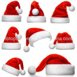 Santa Claus Navidad sombrero rojo&sombreros blancos las tapas de trajes de fiesta