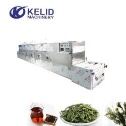 Horno de secado del dispositivo de fijación de esterilización de hoja verde El té negro