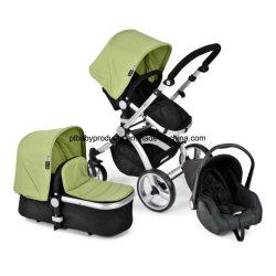 Emparejador de cochecito de bebé de alta calidad con el asiento del coche y el portador