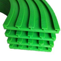 Polyéthylène UHMW engrenage en plastique pure Roue dentée engrenage en plastique