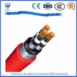 Seguro y fiable de inserción y extracción de acero eléctrico de cable blindado de cable de alimentación marina