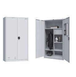 Barato Home Office usados roupas de Aço de Metal Almirah Armazenamento armário guarda-roupa